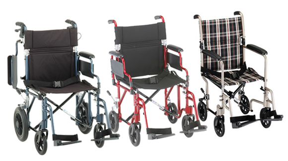 lightweight transport chairs